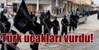Türk Savaş Uçakları IŞİD hedeflerini vuruyor