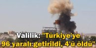 Türkiyeye 96 Yaralı Getirildi, 4ü Öldü