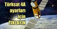 Turksat 4A uydu ayarları, Turksat 4A nasıl ayarlanır, Turksat 4A uydu ayarlama