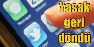 Twitter giriş yasaklandı. Facebook ve Youtube için yasak kapıda