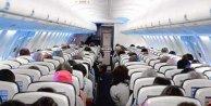 Uçak'ta çocuğa taciz: Alman kadın alkol aldı....