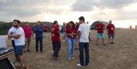 Uluslararası Yamaç Paraşütü Festivali'ne rüzgar engeli