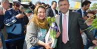 Üsküdar'da Mor Salkım Erguvan ve Mimoza Şenliği