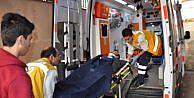 Üzerine Petrol Sondaj Borusu Düşen İşçi Yaralandı