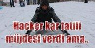 Valilik sitesi hacklendi, kar tatili açıklaması yapıldı