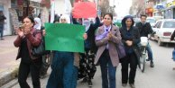 Viranşehirde İç Güvenlik Yasası protestosu