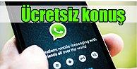 WhatsApp ile ücretsiz telefon görüşmesi