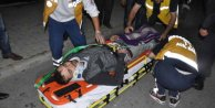 Yardım için gittiği kazada yaralanan oğlu çıktı