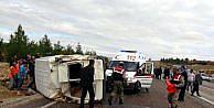 Yavuzelinde 2 Kaza: 2 Yaralı