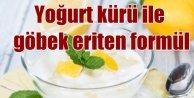 Yoğurt ve limon kürü ile göbek eriten formül