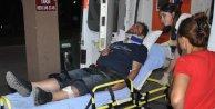 Yoldan çıkan midibüs tepeye çarptı: 12 yaralı