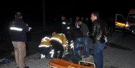 Yozgat'ta 2 otomobil çarpıştı: 1 ölü, 4 yaralı