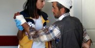 Yozgat'ta acemi kasaplar hastanelik oldu