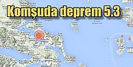 Yunanistanda korkutan deprem, 5.3