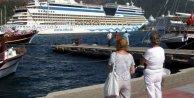 Zengin turist dolu 3 transatlantik terör yüzünden Marmaris'e gelmedi