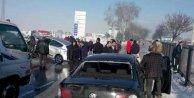 Zincirleme kaza, 100 araç birbirine girdi