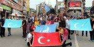 Zonguldakta Çin protestosu (2)