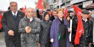 Zonguldakta davullu zurnalı aday tanıtımı