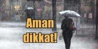 Meteoroli'den şiddetli yağış uyarısı geldi