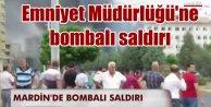 Midyat Emniyet Müdürlüğü'ne bombalı saldırı, 2 şehit var