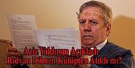 Yıldırım'ın açıkladı,Rıdvan Dilmen kulüpten atıldı mı?