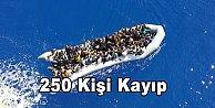 Akdeniz'de tekne battı 250 kişi kayıp