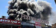 Antalya Festival Çarşısı'nda yangın