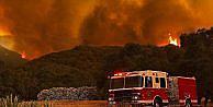 Batı yarımkürenin batısındaki yangınlarda binlerce tahliye
