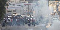 İsrail'den Filistinli göstericilere müdahale: 3 yaralı
