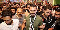 Alvaro Negredo İstanbul'a geldi