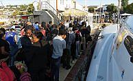 Çanakkale'de 56 kaçak göçmen yakalandı