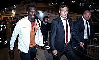 Galatasaray kafilesi Bursa'ya gitti