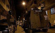 İstanbul'da DEAŞ'a ait 15 adrese baskın: 74 gözaltı