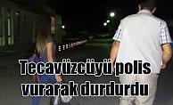 Karaman'da tecavüz dehşeti: Polis tecavüzcüyü vurarak durdurdu