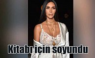 Kim Kardashian kitabı için soyundu, Türk sanatçı fotoğrafladı
