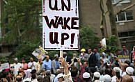 New York'ta Arakan protestosu