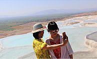 Pamukkale'de doluluk bayram tatilinin etkisiyle yüzde 90'lara ulaştı