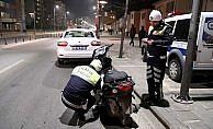Plakasını folyo ile kapatan sürücüye ceza yazıldı