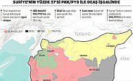 Suriye'nin yüzde 37'si PKK/PYD ile DEAŞ işgalinde