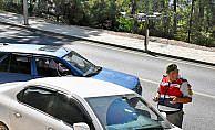 Turizm merkezlerinde 'drone' ile yol kontrolü