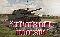 Altay tankı için yerli motor şartı getirildi