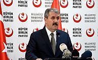 BBP Genel Başkanı Destici: ABD ile vize sorununun müsebbibi Türkiye değildir