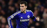 Chelsea Hazard'la kazandı