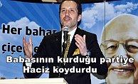 Fatih Erbakan Saadet Partisi'ne haciz koydurdu