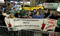 İsrail Filarmoni Orkestrası New York'ta protesto edildi