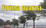 Son Dakika Hava Durumu; Meteoroloji fırtına için uyardı
