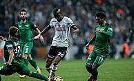 Beşiktaş haftayı bir puanla kapattı