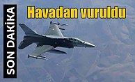 Irak'ın kuzeyindeki PKK kamplarına hava harekatı