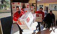 Kızılay'dan Iraklı depremzedeler için kampanya