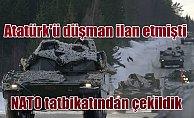 NATO#039;ya ve Norveç#039;e tatbikat resti; Türkiye çekildi